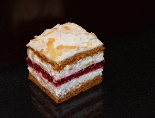 Ciasto Cytrynowe z malinami